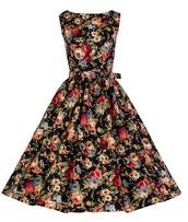 chic,retro,vintage,girly,cute dress,belt,floral dress