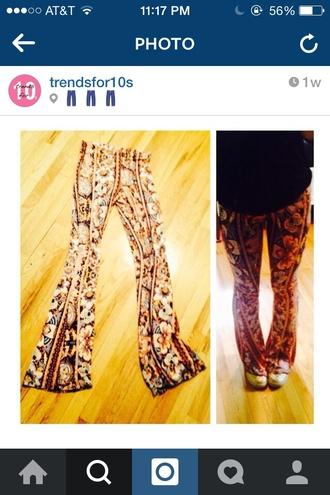 pants pattern pants printed pants