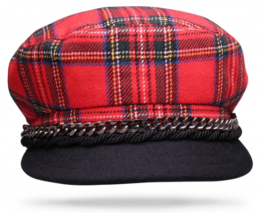 Royal Stewart Red Plaid - Worth & Worth by Orlando Palacios – Online Hat Store