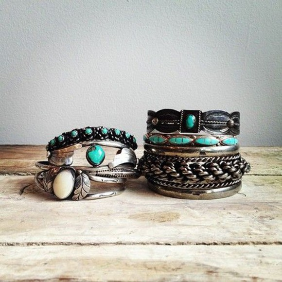 jewels turquoise ring vintage ring