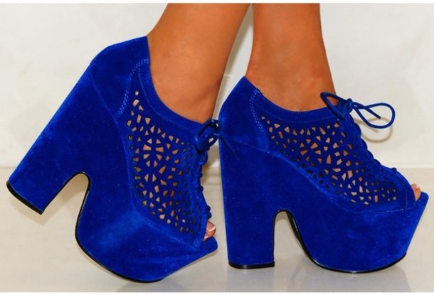 Luichiny R There More Cobalt Black Women Shoes