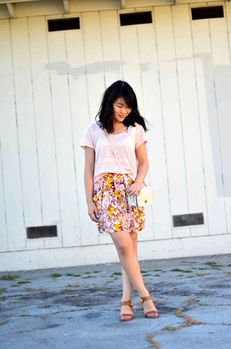 daily disguise top skirt bag shoes