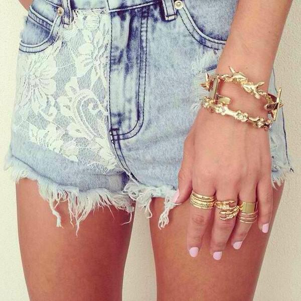 shorts jewels