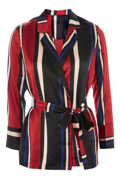 Topshop blazer soft black jacket