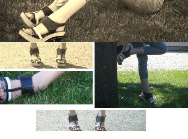 sandals high heels black shoes white shoes grey shoes