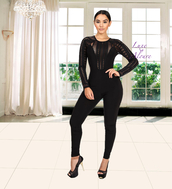 jumpsuit,luxe aloure,sexy,sexy jumpsuit,black,lace,all black everything,lace jumpsuits