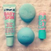 make-up,eos lipbalm,baby lips,baby skin,drugstore,cream,pores