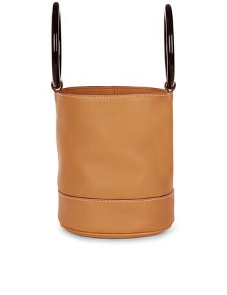 tan bag leather beige