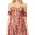 For Love & Lemons Amelia Strapless Mini Dress - Rosebed