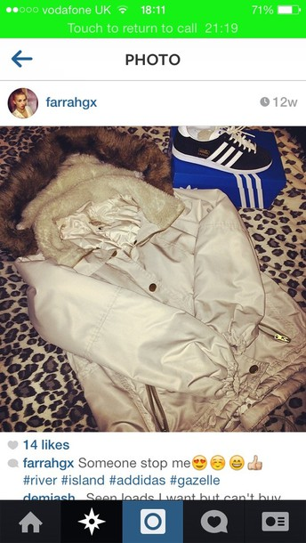 coat white coat riverisland