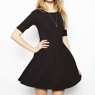 little black dress pleated elegant dresses