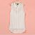 Sexy Women Lady Lace Chiffon Sleeveless Doll High-Low Blouse Shirt Tops S-L Pick
