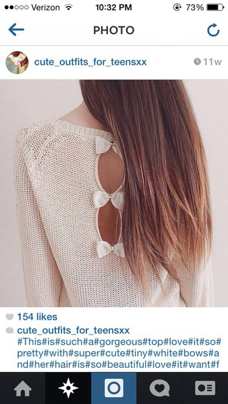 bows sweater top outfits