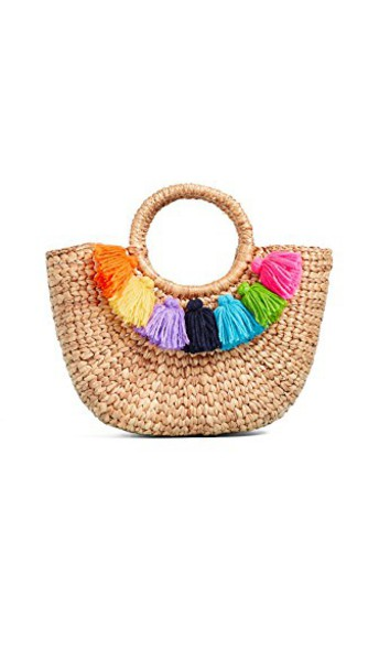 JADEtribe mini tassel bag