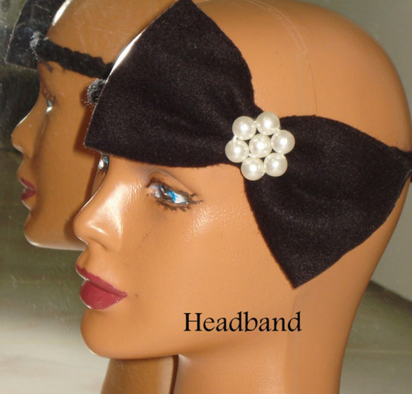 black fashion white wedges dress hair accessories headband crochet crochet headband women button up girl gift
