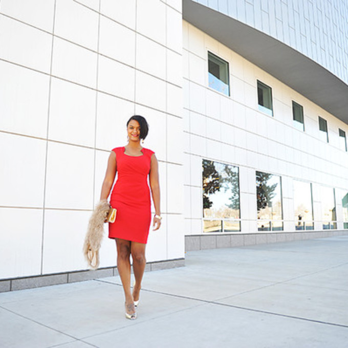 scarf shoes bag dress jewels blogger the lipstick giraffe red dress scarf red