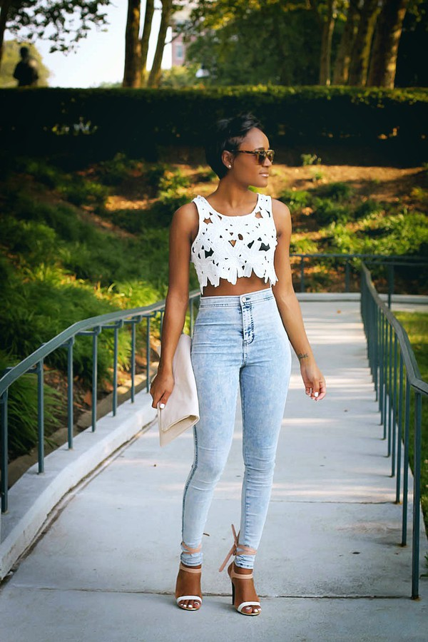 the daileigh top jeans shoes bag sunglasses