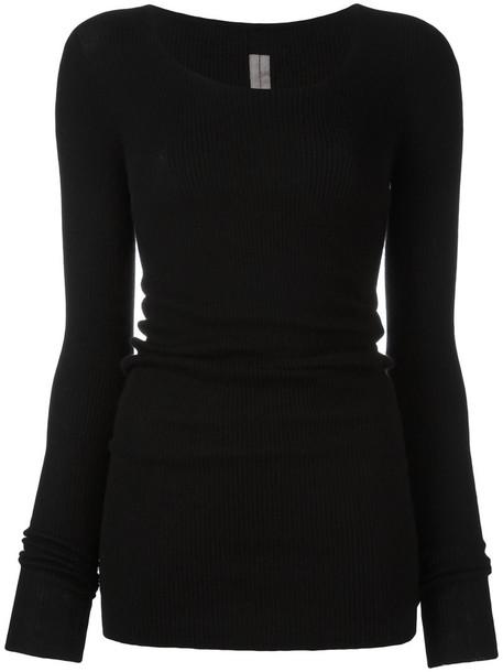 Rick Owens jumper women black sweater