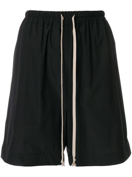 Rick Owens shorts women spandex black