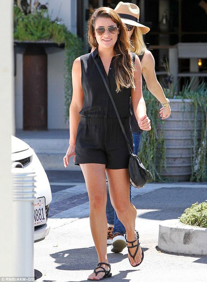 lea michele shoes sandals bag sungla romper jumpsuit