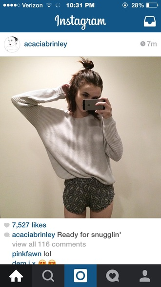 shorts paisley acacia brinley black shorts pajamas pj pants sweater