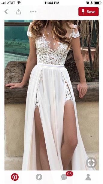 dress wedding dress wedding clothes wedding white dress maxi dress maxi skirt white lace dress lace top white lace dress