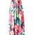 Golden Paradise Strapless Maxi Dress in floral - PressPlay Fashion Australia