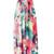 Golden Paradise Strapless Maxi Dress in floral - PressPlay Fashion Australia