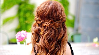hair accessory hairstyles hair fashion cute red red hair braid long hair beautiful curly hair pretty