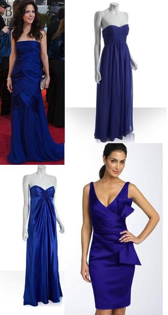 bridesmaid blue dress dress