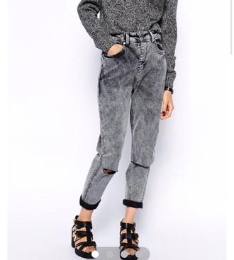 jeans grey mom jeans grey jeans mom jeans