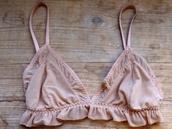 underwear,bra,nude,transparent,pink,lace,cute,bralette,top,pink bra