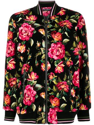 jacket bomber jacket women spandex floral cotton