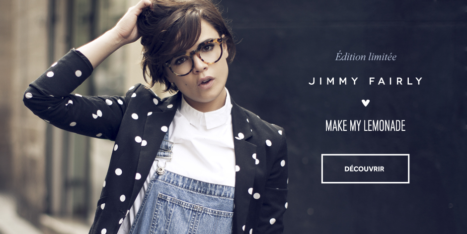 Jimmy Fairly Eyewear - collections exclusives de lunettes de designer
