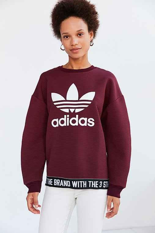 Adidas sudadera y capucha roja Urban Outfitters l d