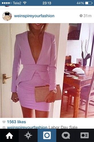 pink dress pink dress sexy dress sexy v neck dress www.ebonylace.net 2014 full length forever hill model heart ball sparkle sequins