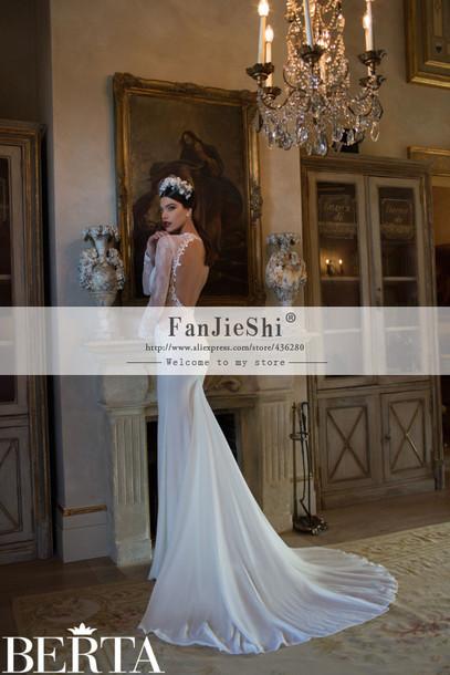 dress wedding dress wedding backless dress
