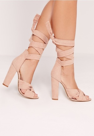 shoes blush pink light pink high heel sandals