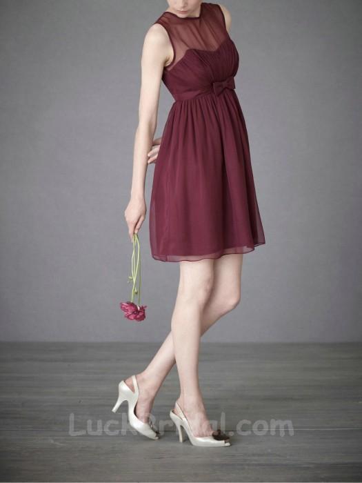 Chiffon Short Party Dress