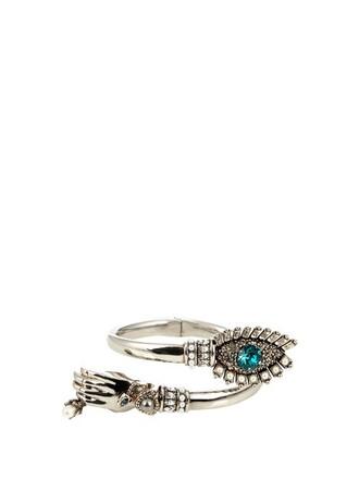 embellished silver jewels