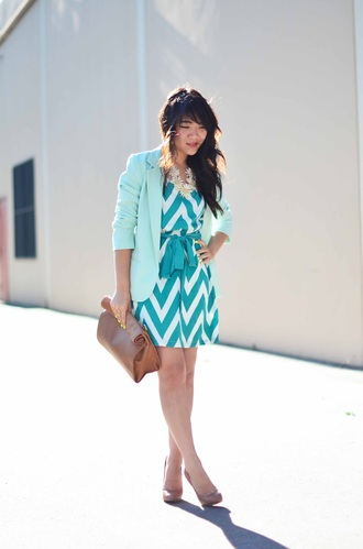 daily disguise dress jacket bag jewels shoes