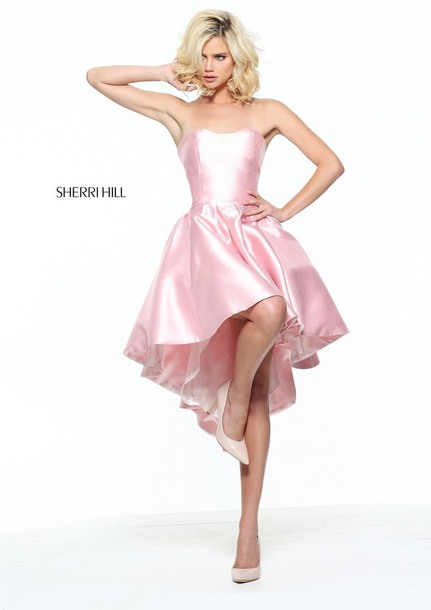 dcde25efb1 dress 2017 sherri hill short dresses satin homecoming gown sale