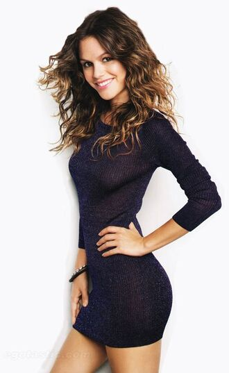 dress sweater dress knitwear rachel bilson mini dress perfect cute