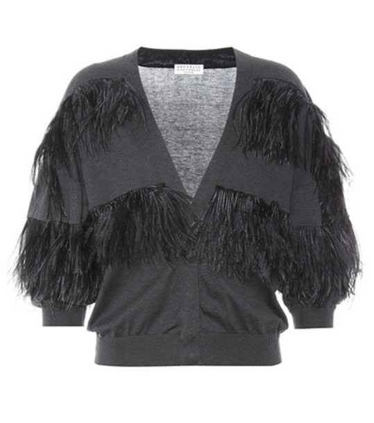 cardigan cardigan cotton grey sweater