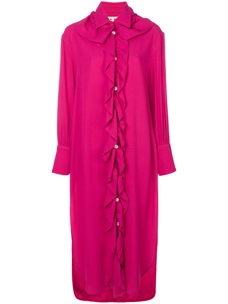 dress shirt dress women purple pink