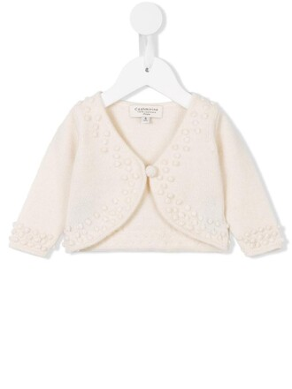 cardigan girl knit white sweater