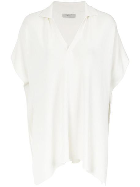 women white knit top