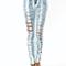 Gj | shred it faded skinny jeans $49.40 in lblue - denim rehab | gojane.com