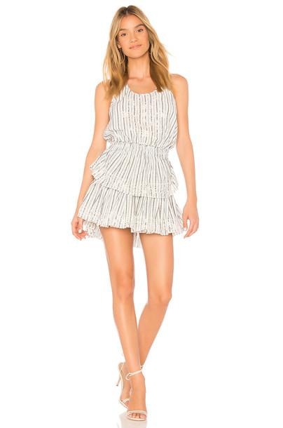 dress mini dress mini ruffle white