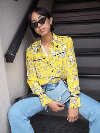 top blouse le fashion image blogger shirt